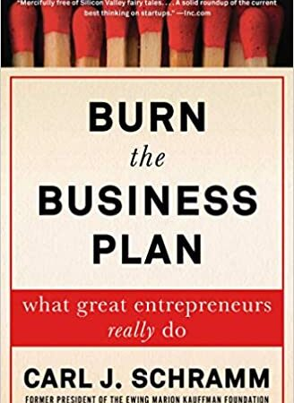 Burn The Business Plan minorityBZHub